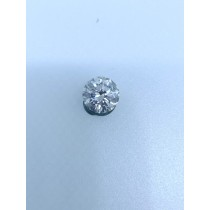 White Round Diamond - 3.08 carats
