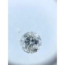 White Salt N Pepper Round Diamond - 0.69 carats